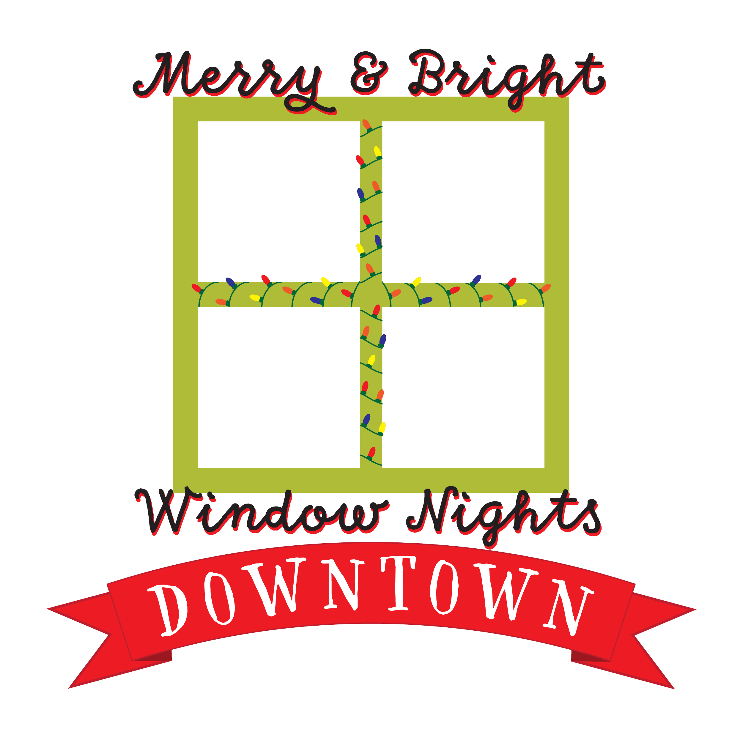 Merry and Bright Logo for light background