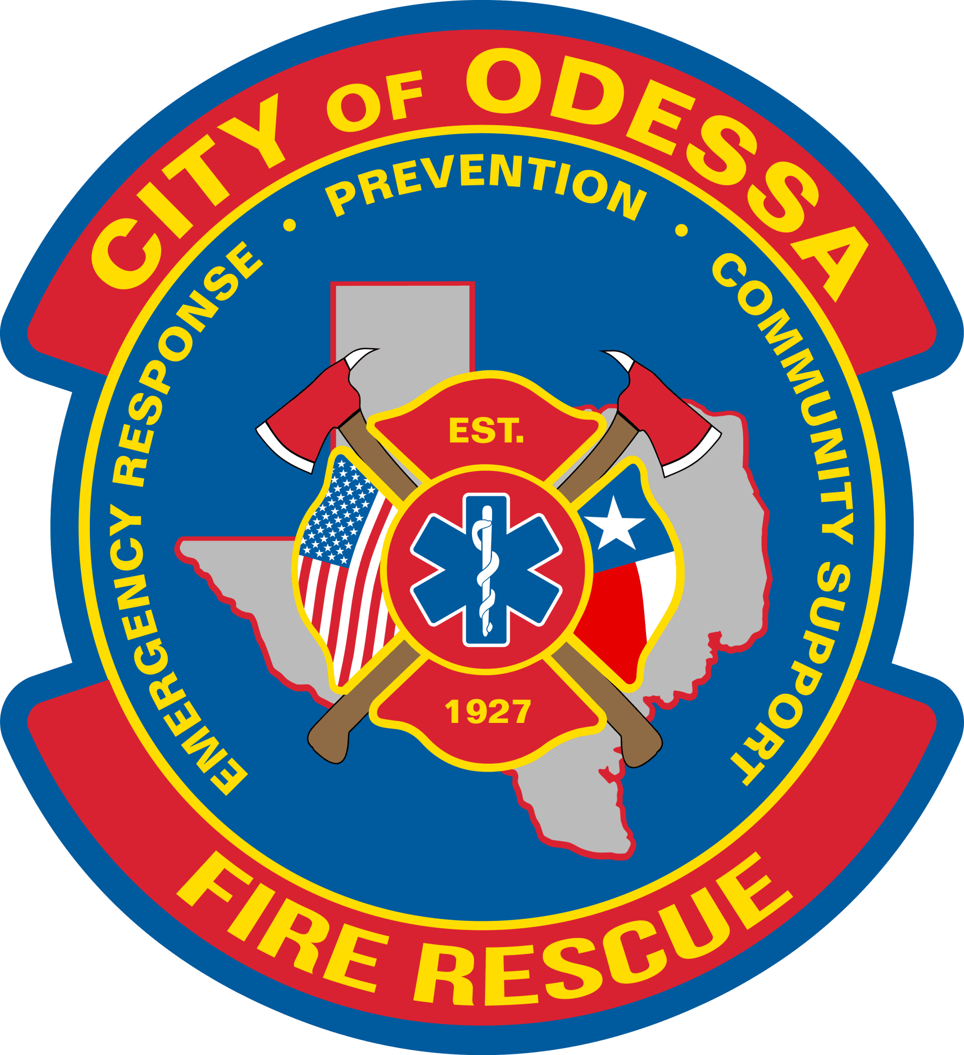 City of Odessa Fire Rescue, Emergency Response, Prevention, Community Support