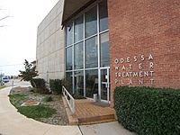 Odessa Water Treatment Plant Building Entrance